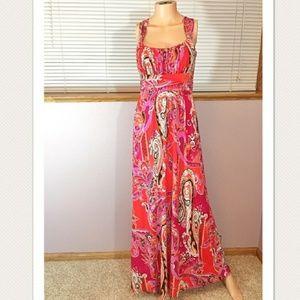 New condition Bisou Bisou maxi dress